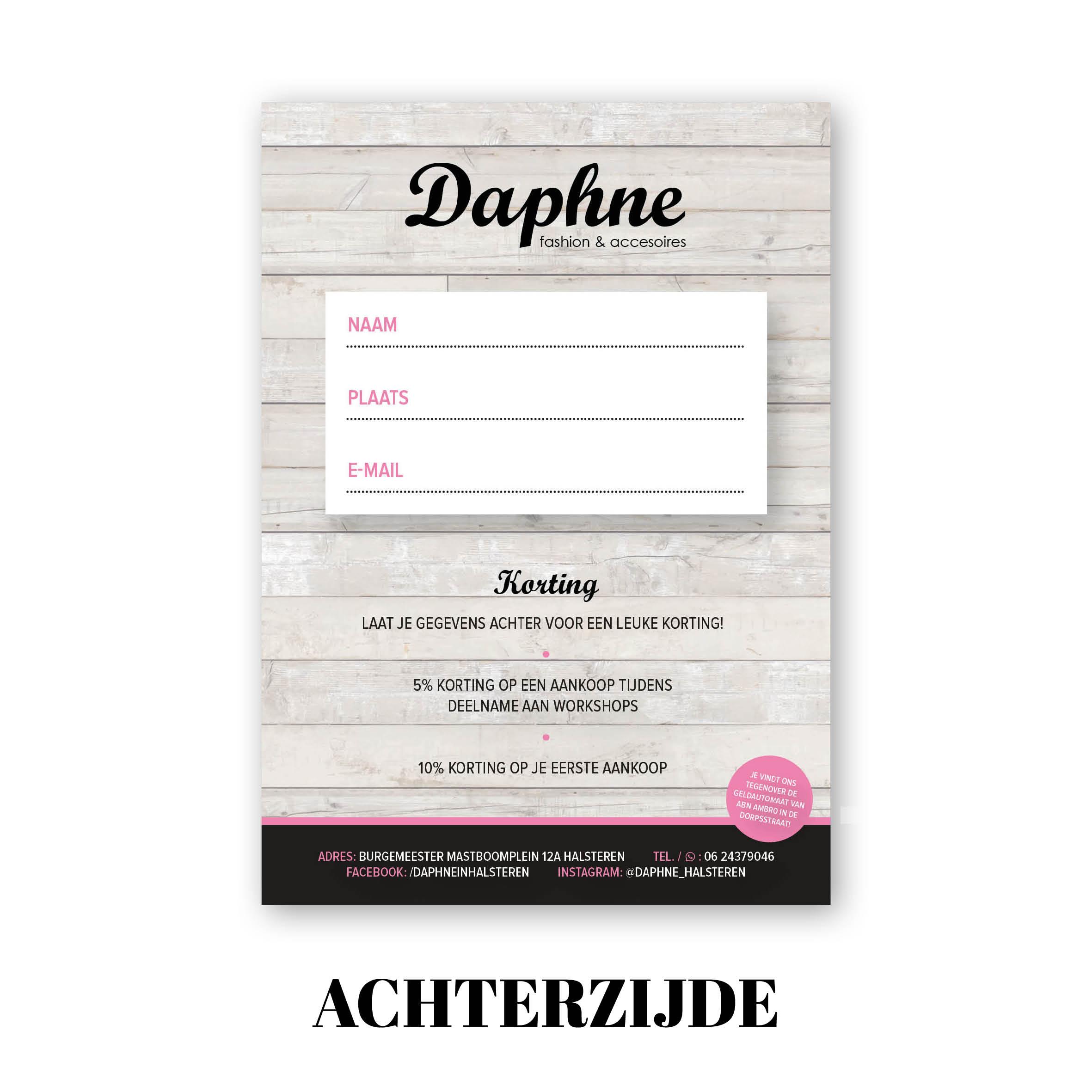 Zakelijk drukwerk, flyer ontwerp