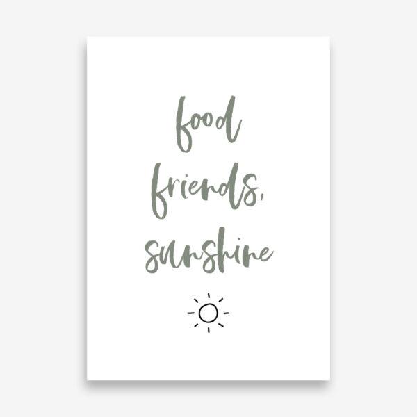 Tuinposter_Food_friends_sunshine