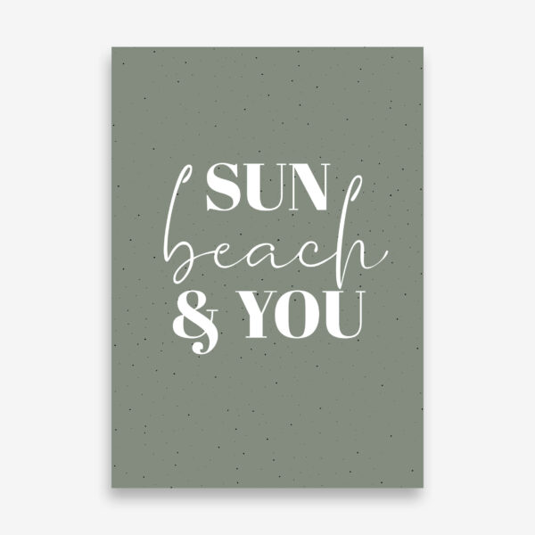 Tuinposter_Sun_beach_and_you