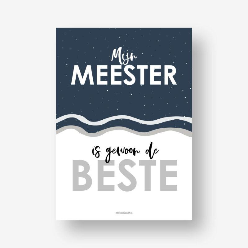 Meester_cadeautje_Poster_meester
